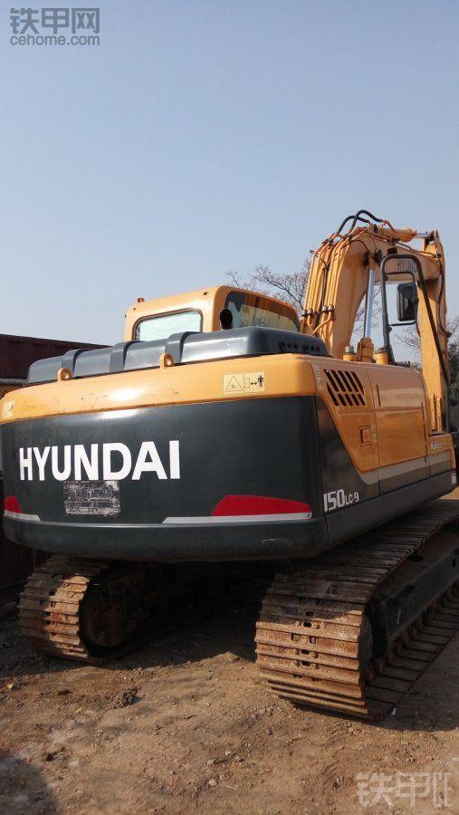 现代 R150LC-9 二手挖掘机价格 48.5万 500小时