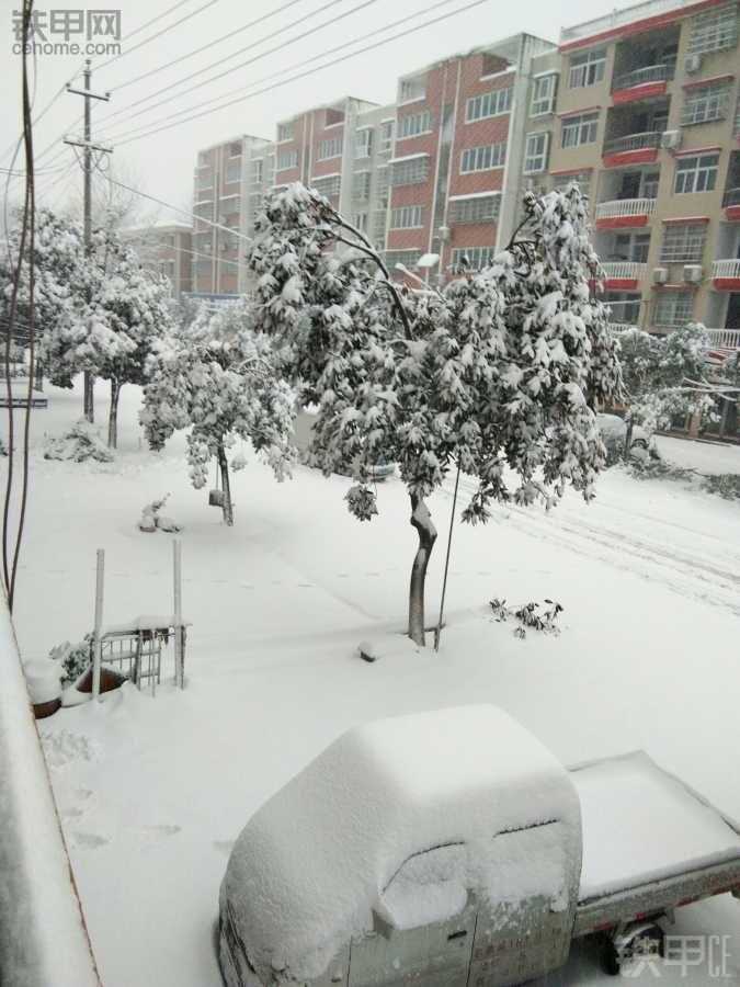 这雪下的可以休息几天了