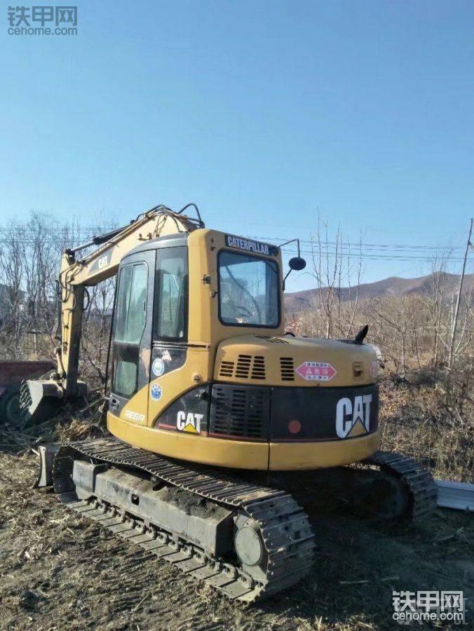 卡特彼勒 308CCR 二手挖掘机价格 18万 16000小时