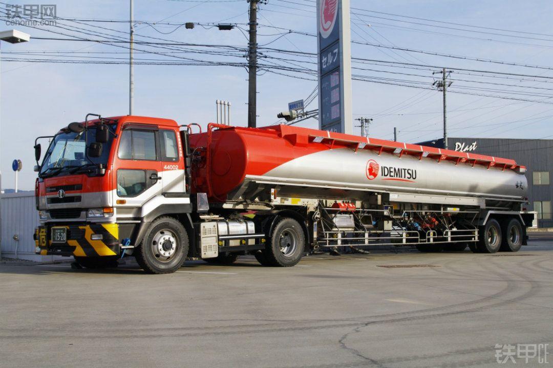 日本出光兴产公司油罐车