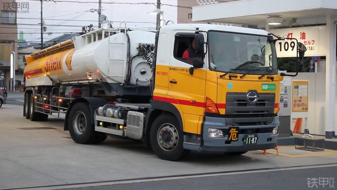 日本壳牌公司油罐车