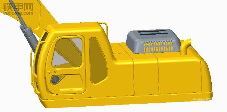 自己建的挖掘机模型,大佬帮忙看下跟哪台机子比较像