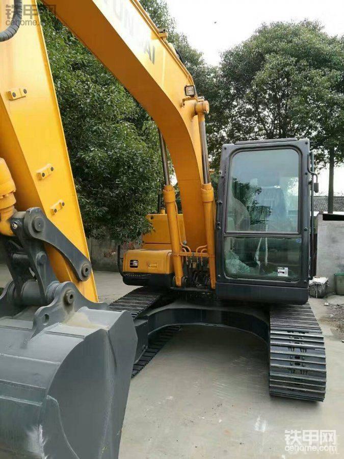 现代 R110-7 二手挖掘机价格 48万 1小时