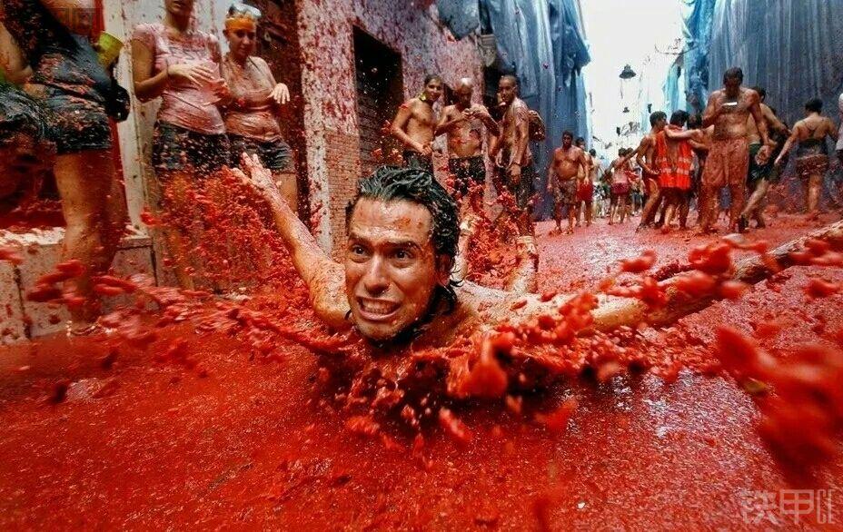 这是身体扫街还是番茄浴