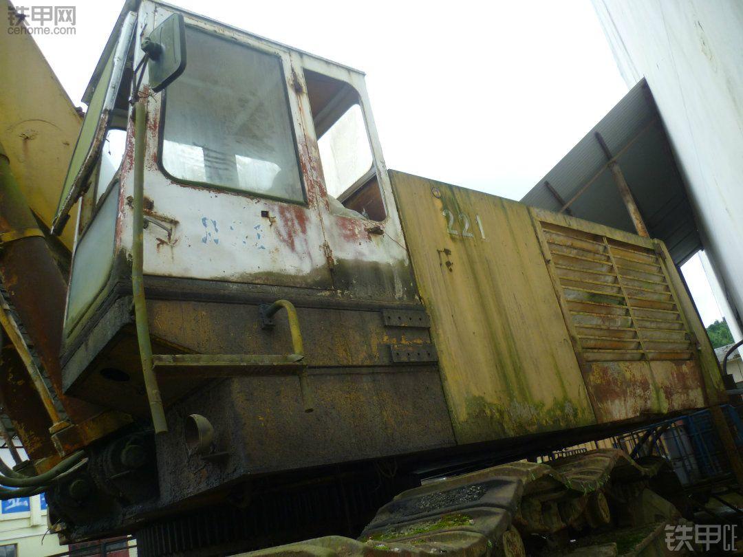 贵州首台93吨德马格(德马克) H85液压挖掘机特写!!!