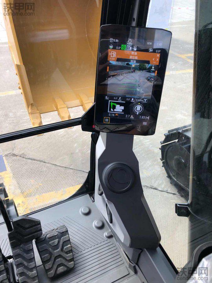 试驾智能版最新卡特320,有些心动