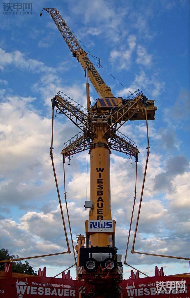 国外靓机 WIESBAUREG起重机高清美图
