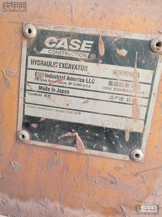 16个月的凯斯CX360B挖掘机运用经历和心得!