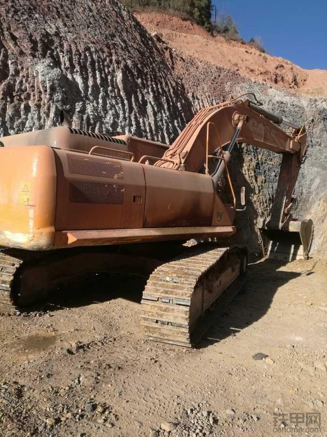 16个月的凯斯CX360B挖掘机使用经验和心得!