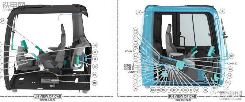 卡特312D2 GC挖機中文電路圖紙分享-帖子圖片