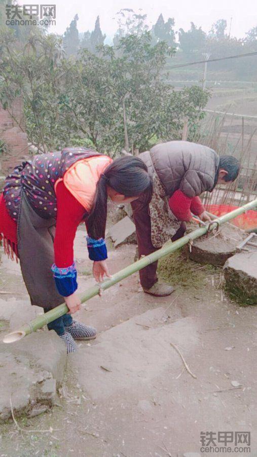 上山砍柴打野菜 挖机小妹的假期生活有点不一样