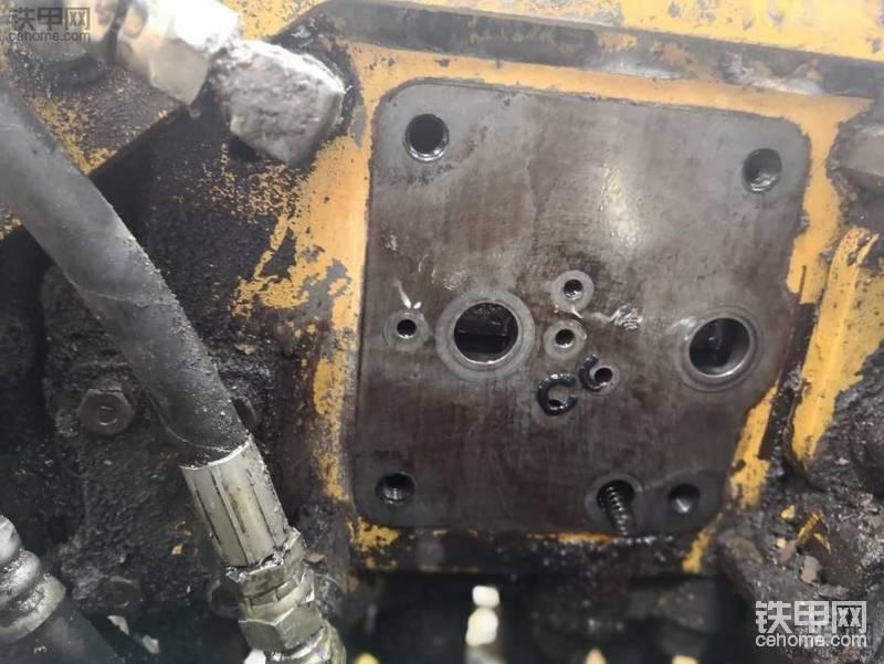【5yao旺】维修小白之小松400跟机维修记