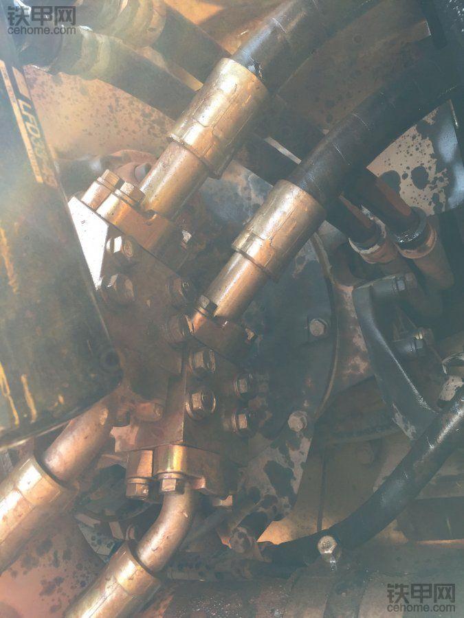 【5yao旺】挖机爆管怎么办?多图实拍处理全过程