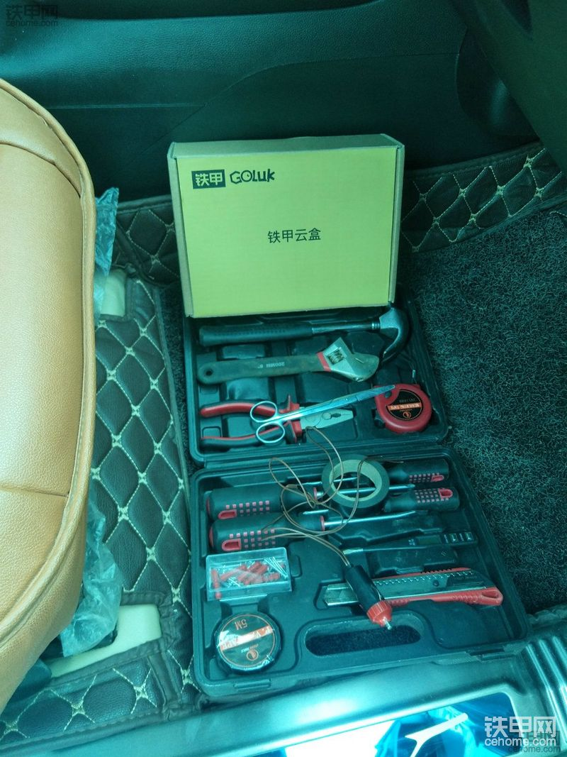 冬季停工 狠心拿宝骏510做实验 点烟器取电亲测可用