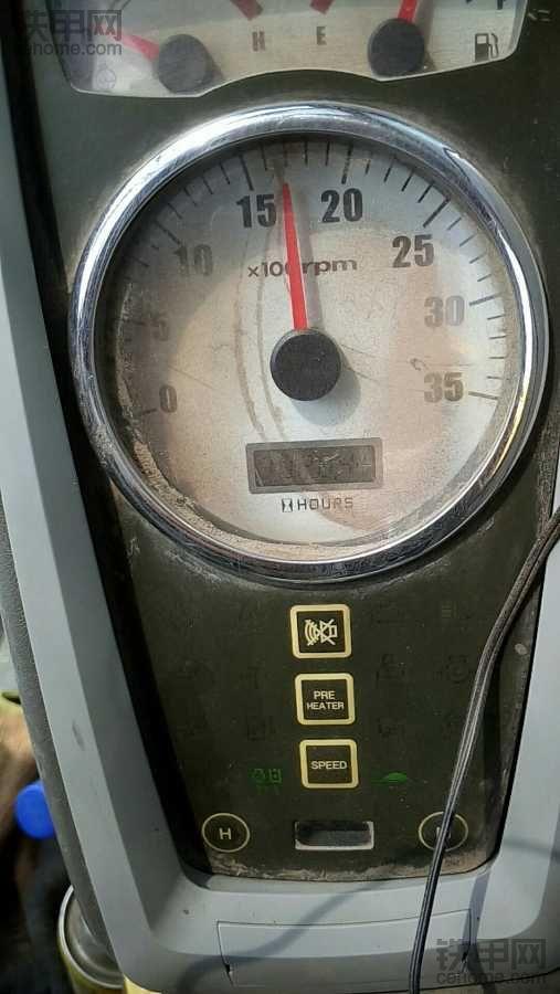 09年现代60-7小挖高温