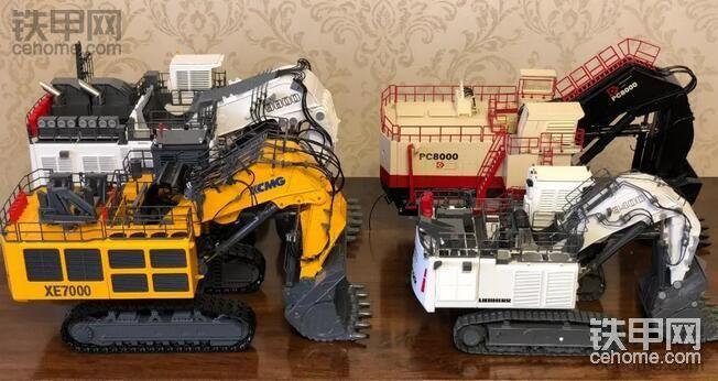 看完让你目瞪口呆!缩小50倍的徐工 XE7000 矿用挖掘机横空出世!图要多标题要长!