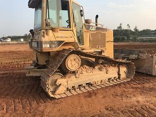 工地下来一台卡特D5N造型机推土机需要转让