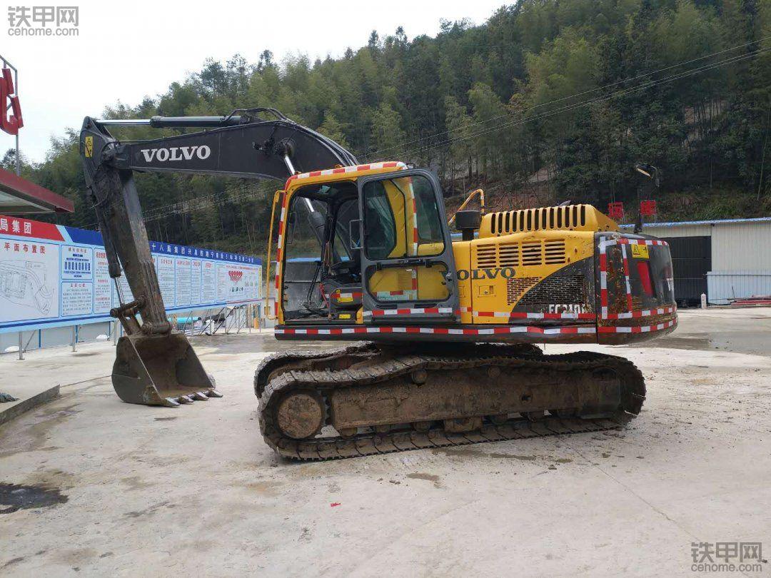 我最满意的挖机!沃尔沃210B挖机使用心得!