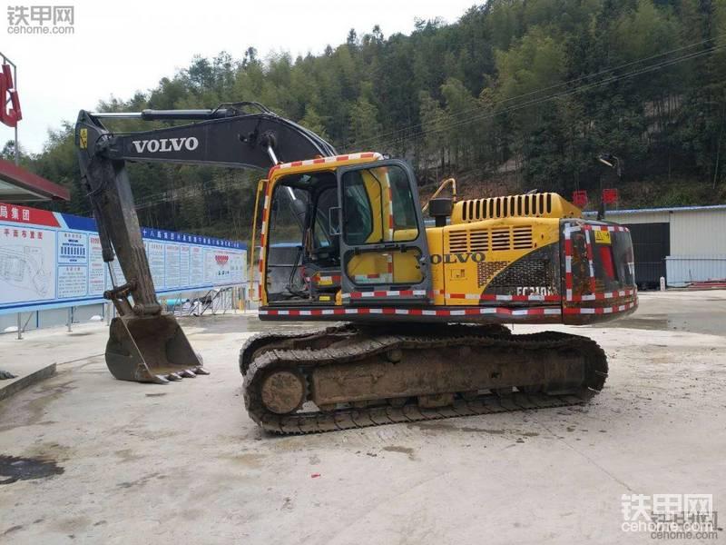 我最滿意的挖機!沃爾沃210B挖機使用心得!-帖子圖片