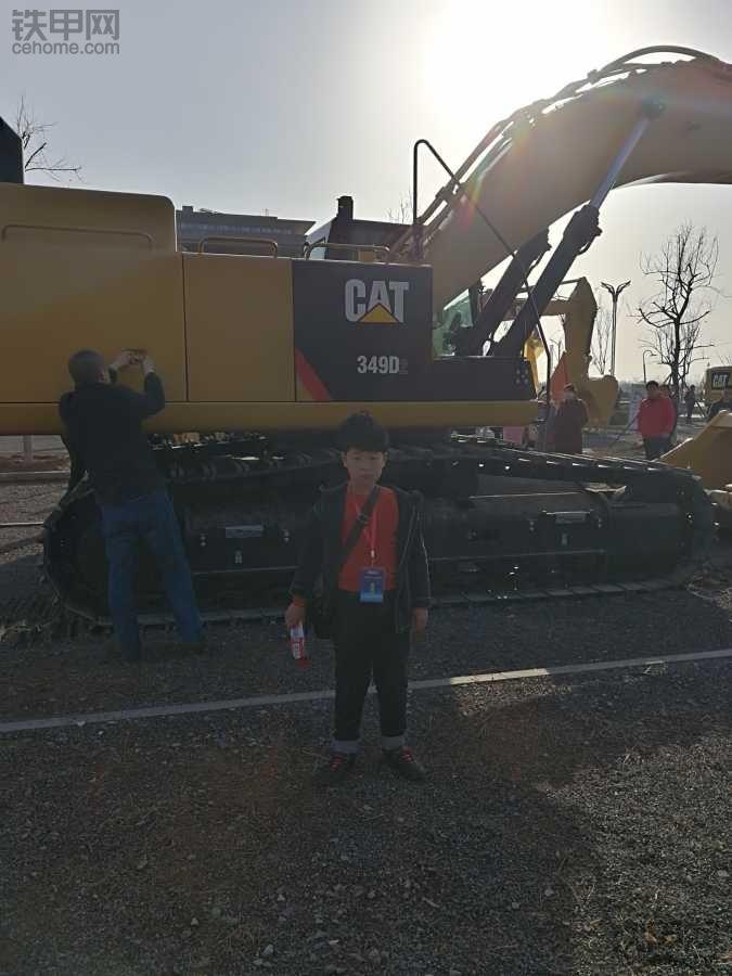参加卡特展会,我提了一辆336D2矿山版