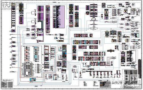 卡特320E中文电路图纸
