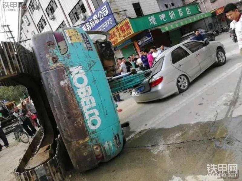 下拖车事故-帖子图片