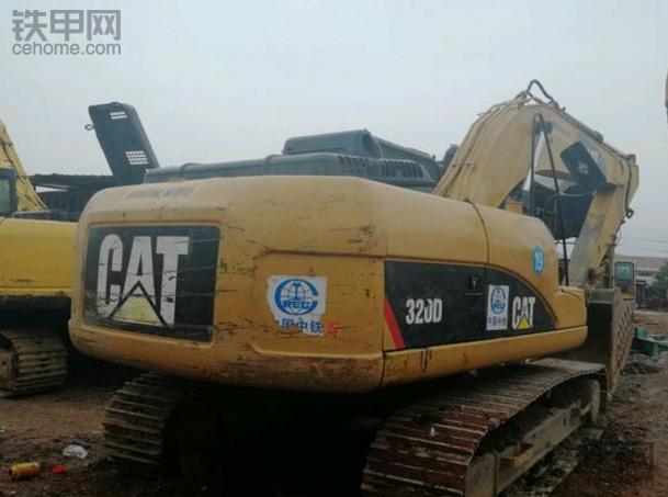 卡特320D憋车不能干活,说说我的维修经历(一)