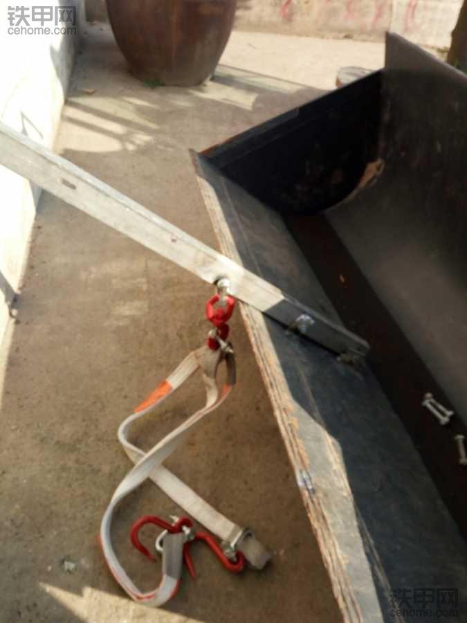 这样焊吊东西铲斗会变形吗?