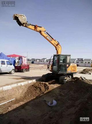 创业路上的第一台挖机,三一75c-9小挖使用感受