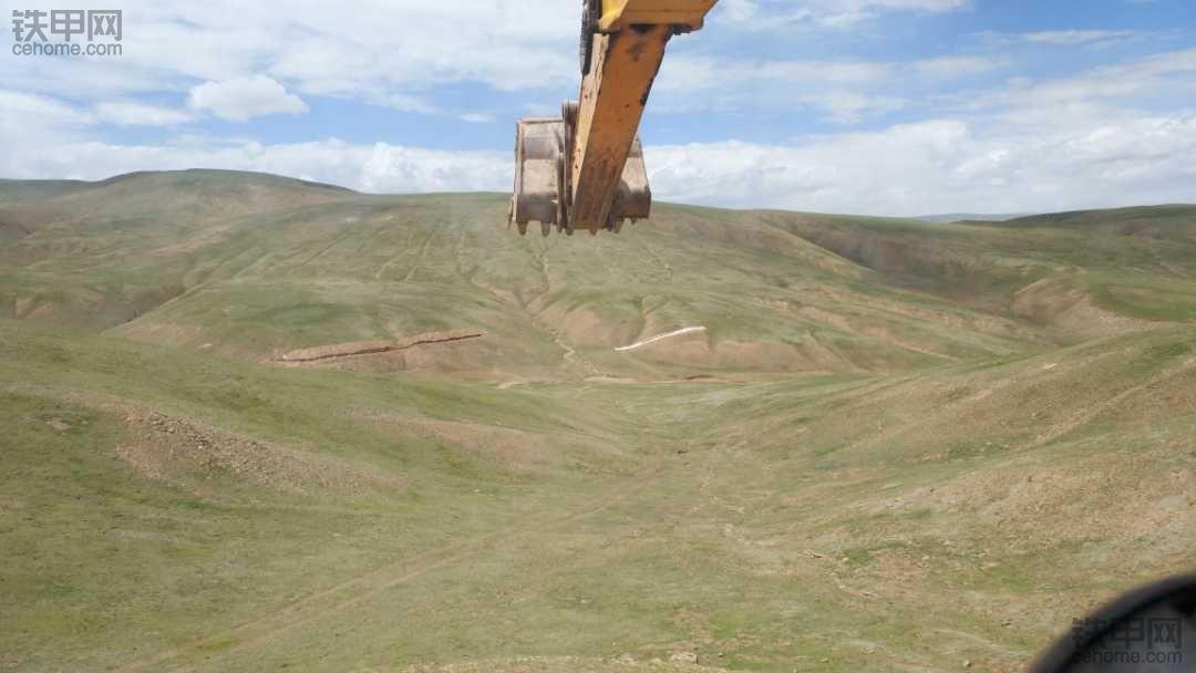差点命丧深山——我在青海无人大山里开挖机