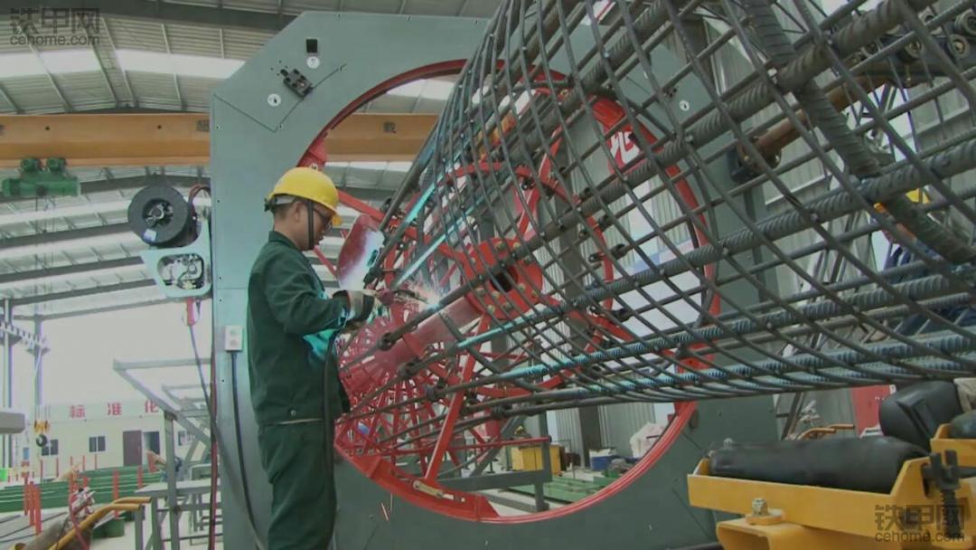 钢筋笼滚焊机处理