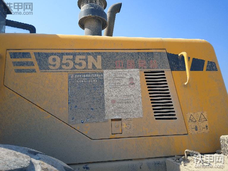常林955N鏟車方向油缸漏油-帖子圖片
