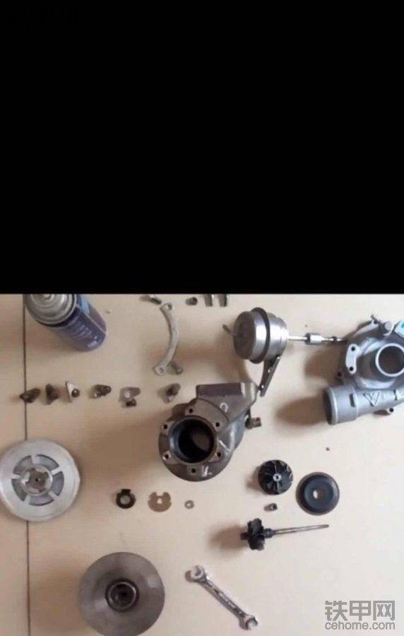 涡轮增压器到底是什么,拆开了让你看个清楚