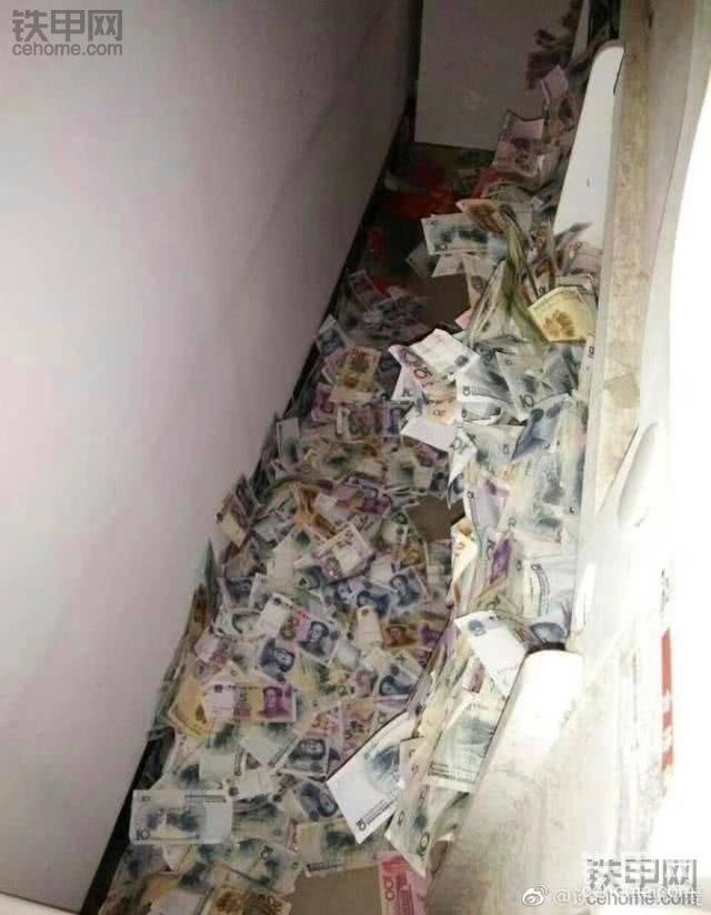一个开挖机的哥们的私房钱被媳妇发现了