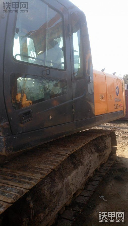 现代 R215-7 二手挖掘机价格 53万 3100小时