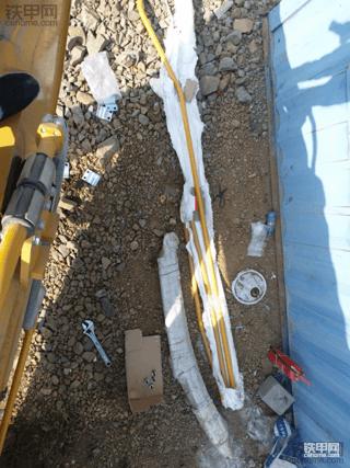 (多图)三一485安装无损破碎锤管路详细步骤