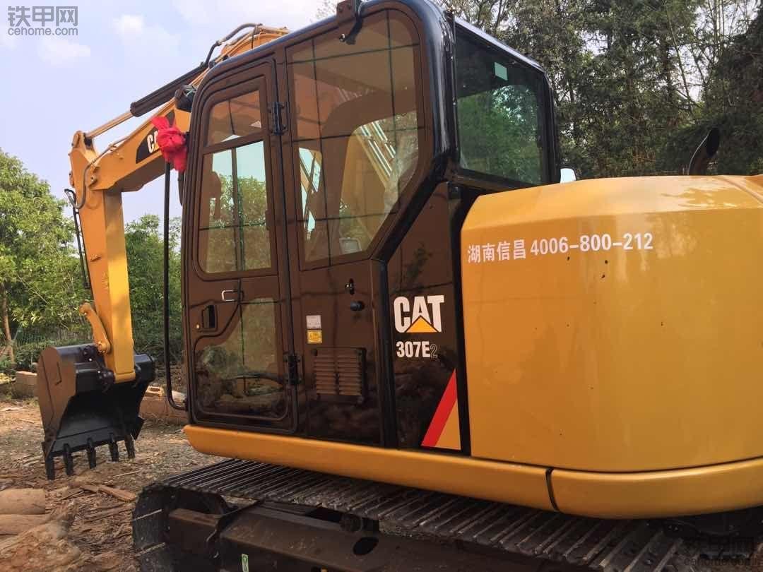 卡特307E2新机油耗
