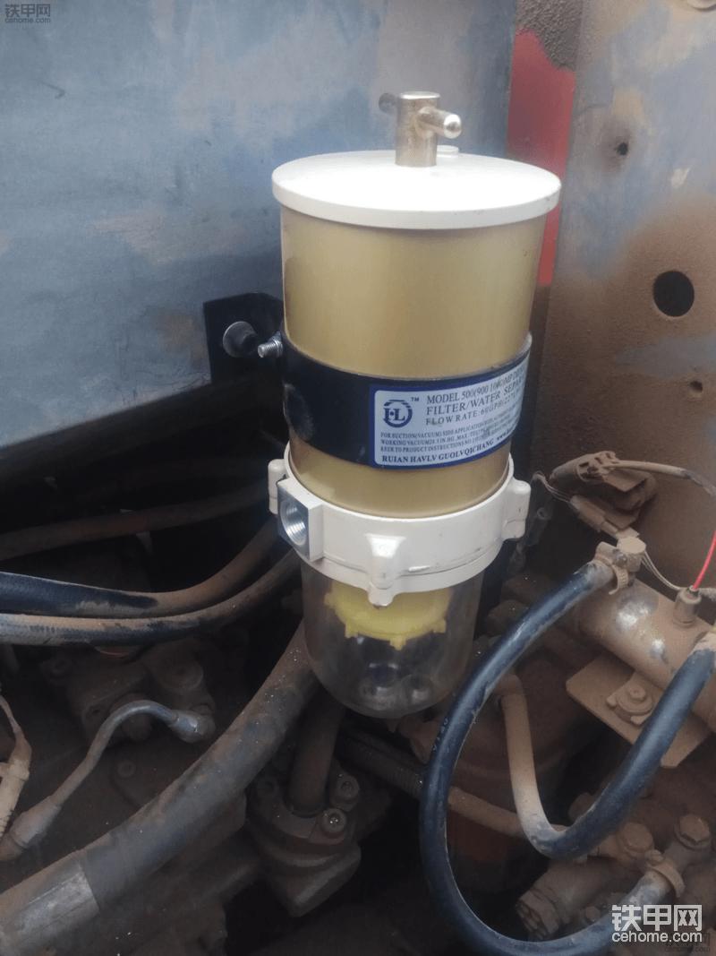 固定油水分离器总成