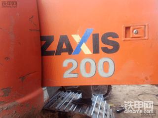 改装!给日立ZAXIS200带上防雾霾口罩!