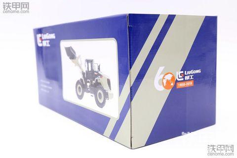 1:35柳工六十周年纪念版装载机模型