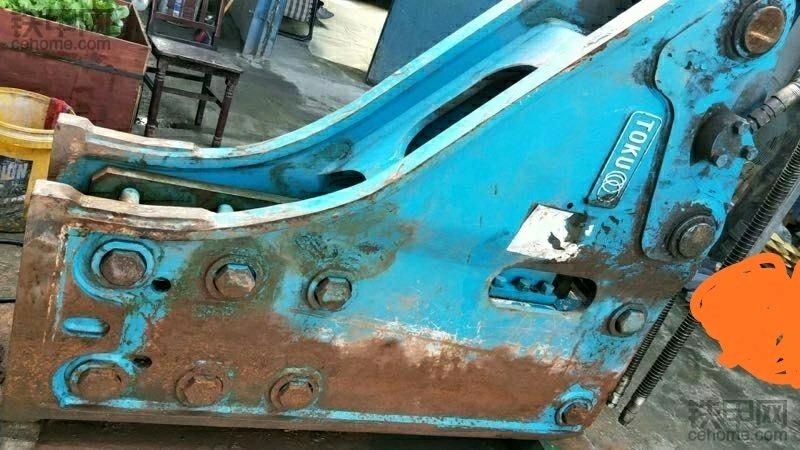 精品原装进口东空151破碎锤,只用了20几个小时