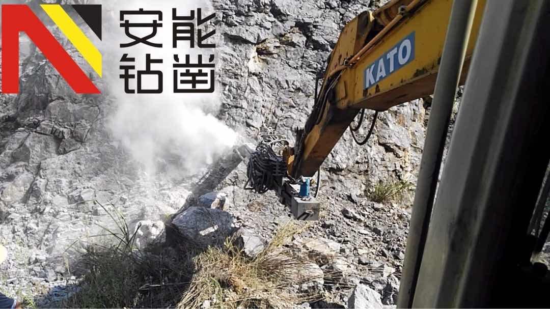 挖改钻机能打水平孔的不多见