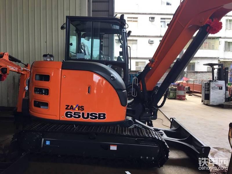 新车日立ZX65USB挖掘机在台湾-帖子图片