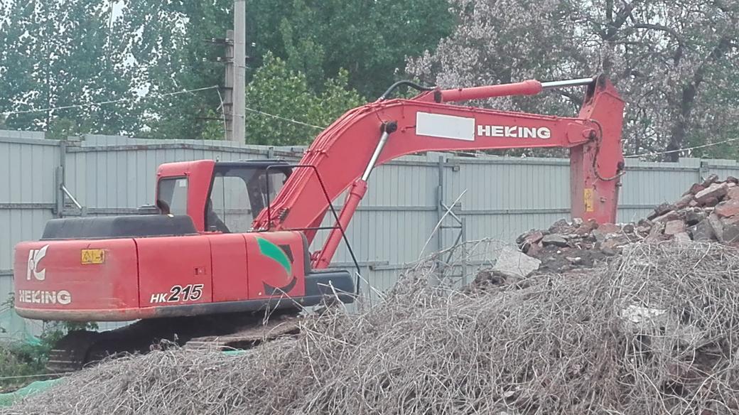 这挖机HEKING
