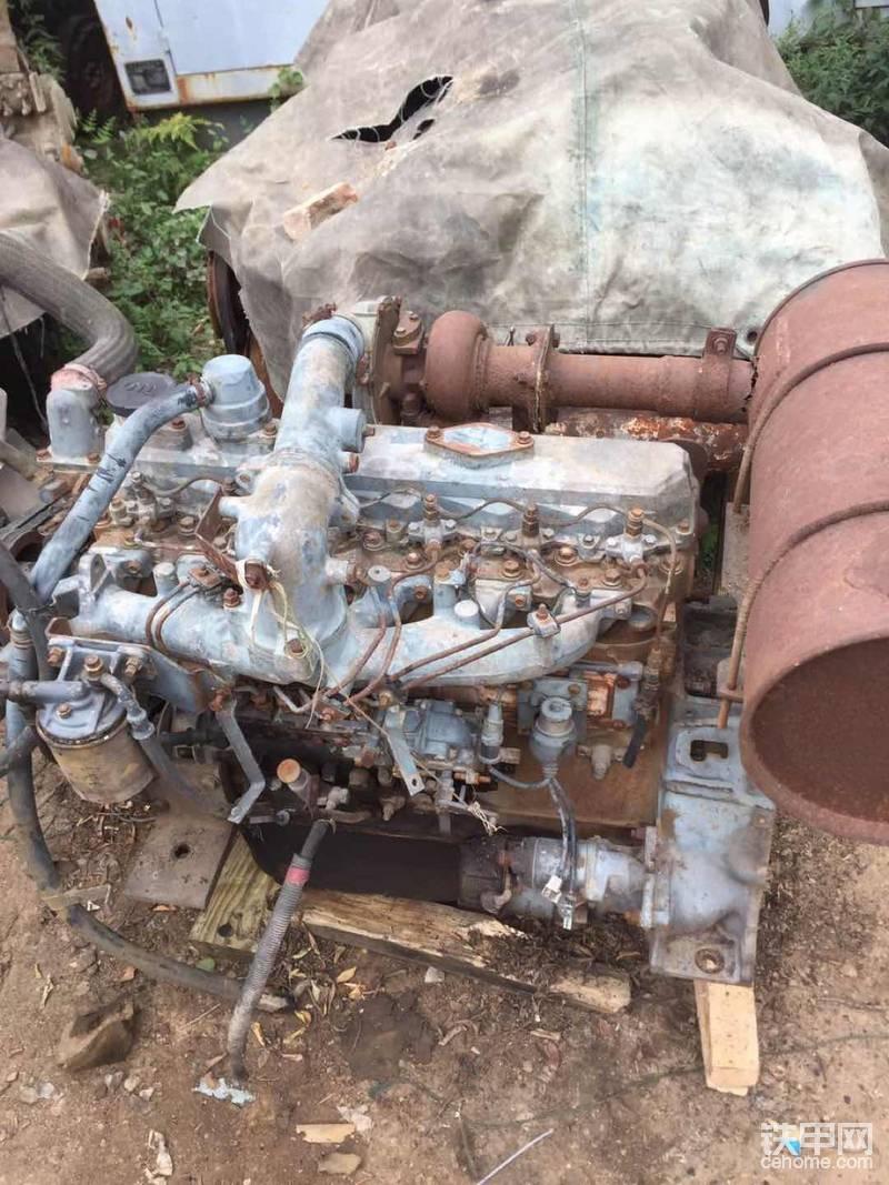 又是一台日立发动机 ,有知道什么型号吗?
