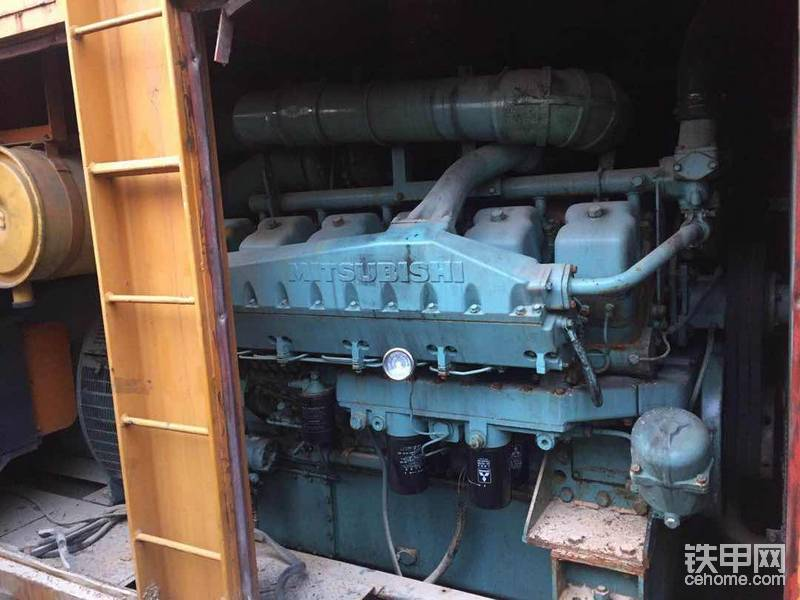 800 多千瓦艾尔曼 电机 配三菱发动机?