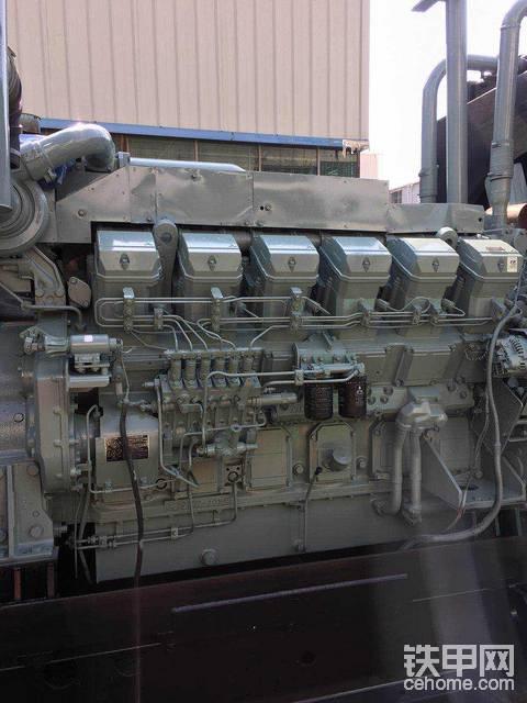 还有一部三菱1020 千瓦。