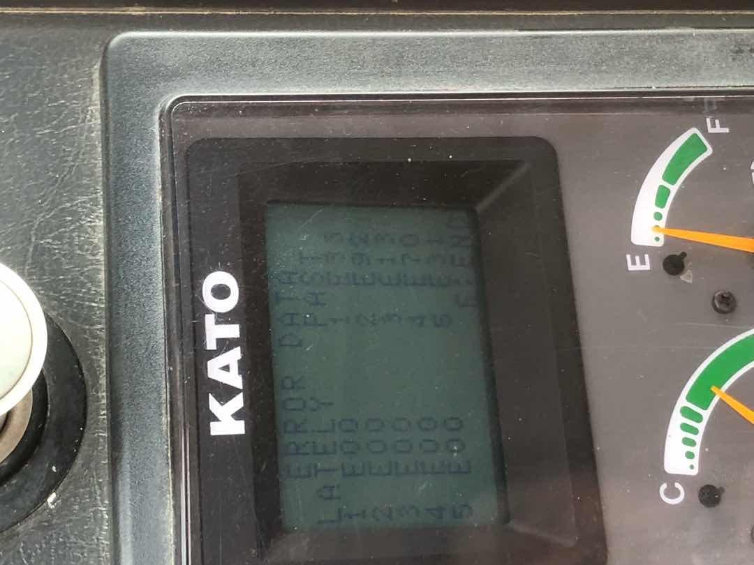 加藤512-3故障代码显示