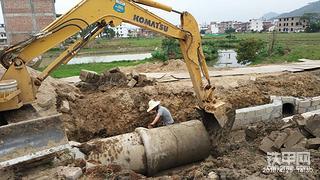 【老司机带你飞】挖涵管沟要根据土质来