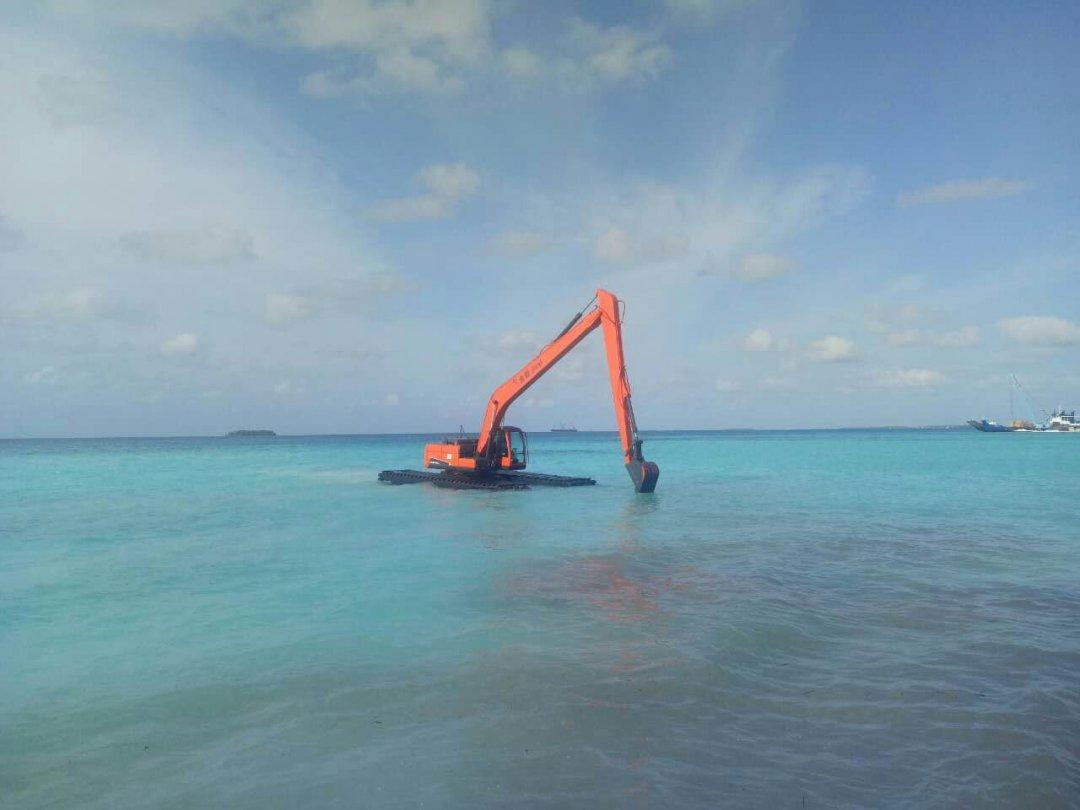 我要带你去美丽的马尔代夫